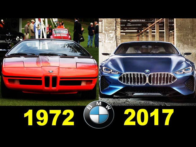BMW Concepts And Prototypes 1972 2017