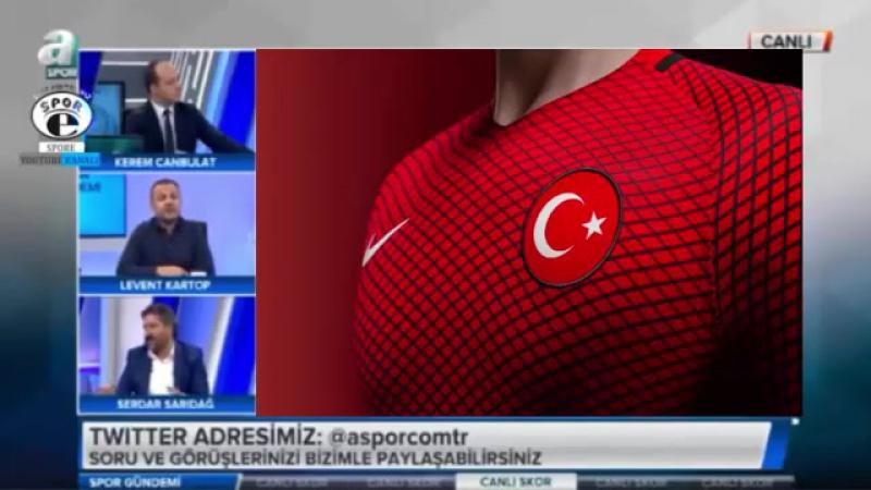 Spor Gündemi ¦ Beşiktaş, Milli Takım kadrosu ve Trabzonspor yorumları 26 Ağustos 2017.mp4