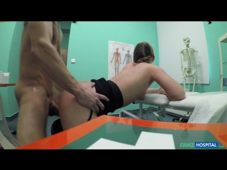 FakeHospital - Selvaggia - Cute pigtailed cleaner sucks cock [All Sex, Blowjob, New Porn 2017, Минет, Порно, 1080p]