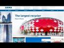 Создание корпоративного сайта для компании АКМА на Битрикс