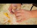 007 Деревянное творчество Плетём из бересты ч2 Тарелочка