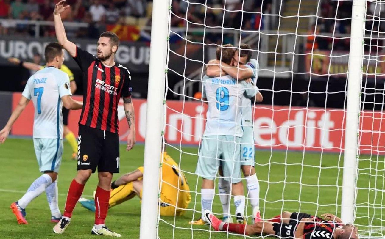 Vardar Skopje - Zenit St. Petersburg 0:5 . Как это было
