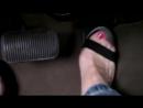 Car broke down Sexy сексуальные эротические ноги стопы обувь колготки девочки мамаши школьницы студентки молодые