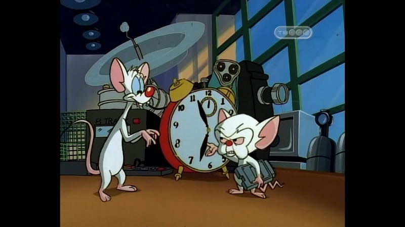 Пинки и Брейн 2.11 (31) Two Mice and a Baby / Две мыши и ребенок Pinky and the Brain