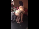 Hot girl fight on the club dance make up room