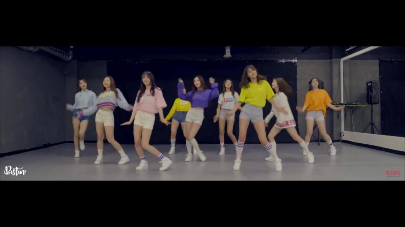 [DANCE PRACTICE] PRISTIN (프리스틴) - 너무너무너무(Very Very Very)