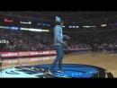Просто крутое выступление на NBA, хип хоп танец