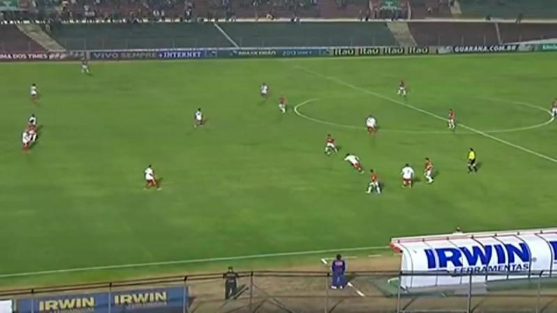 Golaço de Gilberto! Portuguesa 3 x 0 Nautico Brasileirão 19 09 2013 YouTube
