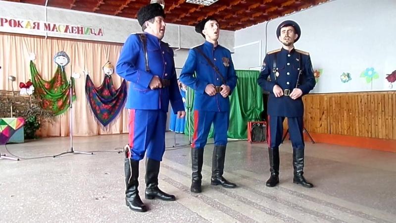 Семейный казачий ансамбль Чернигиных. Хутор Плотников2