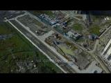 Первое обзорное видео с нашей стройки, захватывающее окрестности всей Северной Долины!