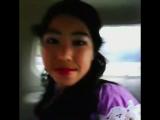 Едем на машине из дома сестры в #Ош, а именно в #манас😻😎😗Обожаю такие загсы😊🚖🚕Азема немного плакала,т.к.скучала по Назиме (по мо