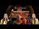 Мстители: Война Бесконечности (реакция на трейлер)/ Avengers: Infinity War (Trailer's Reaction)