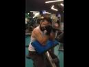 Machine biceps curl