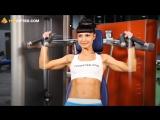 Фитнес. Тренировка плеч.