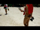 Вот так встречают туристов на Кайо Бланко