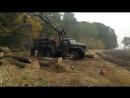 ОМТЛ 70 аналоги АТЛАНТ С70 СИНЕГОРЕЦ 75 гидроманипулятор для леса 2 т на шасси УРАЛ 4320