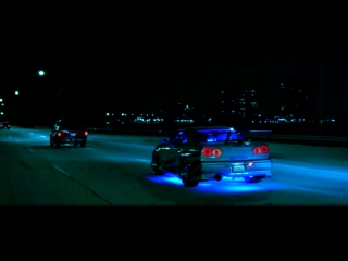 Nissan skyline with paul walker