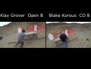 2018 USPSA LTD Club Practical Pistol Shooting Competition Side by Side footage Split Screen