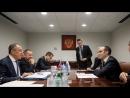 С Лавров и Государственный секретарь Сан Марино по иностранным делам