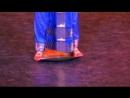 Танец на тарелке Кучипуди