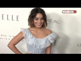 Vanessa Hudgens Elle arrives at 017 Elle Women in Hollywood Awards