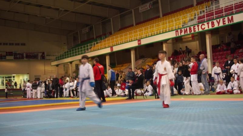 Межрегеональный турнир по карате г. Губкин