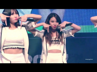 170822 TWICE - TT @ JYP Trainee Showcase (Chaeyoung focus)
