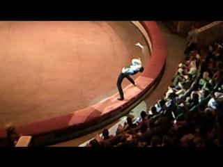 Первое отделение - жонглёр