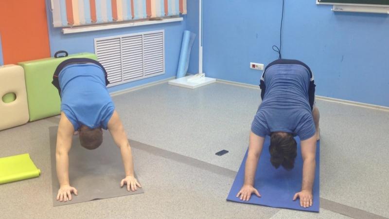 Йогатерапия - здоровая спина