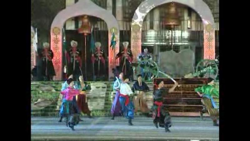 Танец За Кубань за рекой