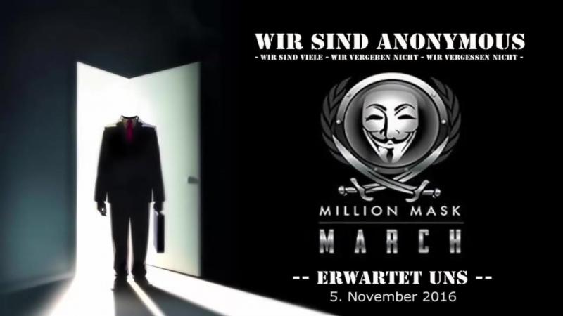 Anonymous - Neue Nachricht an Deutschland - Seht ihr was Ich sehe ... (2016)