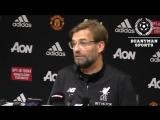 Manchester United 2-1 Liverpool - Jurgen Klopp Full Post Match Press Conference