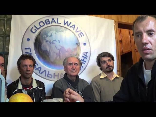 3-4 Рафаэль и Волосатов на Globalwave 27.08.2014 - Глобальная Волна