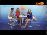 Женя Малахова и Ростислав Мусаев на ЮМОР ТВ