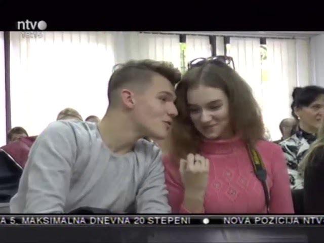 09.10.2017. - NTV Telepres - Prijem za učenike iz Belorusije