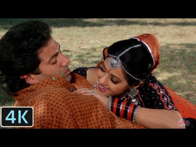 Saara Saara Din   Full 4K Video Song   Sridevi, Sunny Deol - Nigahen