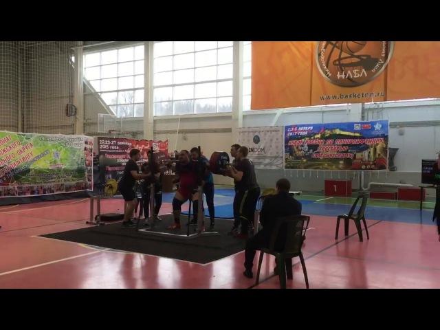Solodov Anton squat RAW 370.5kg@120kg, New record of Russia