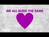 Mandisa - Bleed The Same (Lyric Video) ft. TobyMac, Kirk Franklin
