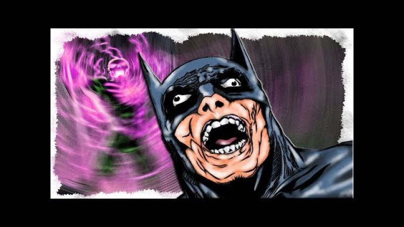 Бэтмен ЗАПУГИВАЕТ преступников Готэма. Флэш против Черного Гонщика \ Сюжет. DC Comic...