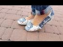 Как я переделала старые туфли в современные СМОТРИТЕ видео ДО И ПОСЛЕ Декупаж обуви