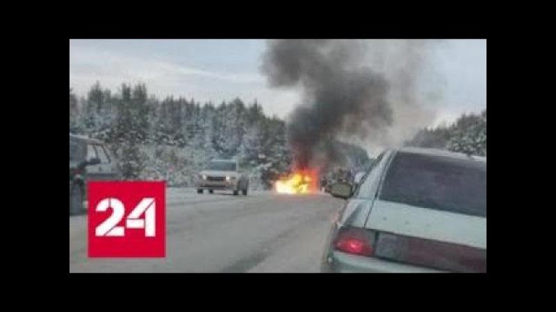 В Свердловской области полицейские погибли в результате погони за лихачом - Рос ...