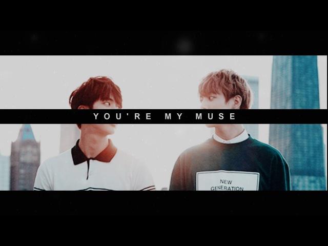 Jinkook / my muse (photographer au)