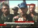 18.10.17 - репортаж телеканала Алихбария с территории целлюлозно-бумажного комбината подтверждает, что именно САА установили полный контроль над объектом вместе со взятием села Аль-Хуссейния.