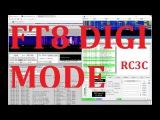 RC3C - FT8 digi mode SWLing via WebSDR  WSJT-X