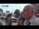 Перекресток в центре Мариуполя не поделили BMW и такси
