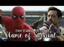 Tony Stark/Peter Parker - Game of Survival