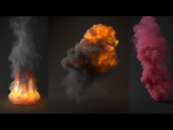 Tutorial No.65 Rendering realistic Explosion and Smoke in V-Ray for 3ds Max (Volumetric Grid)