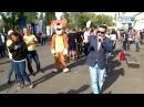 Представители от Минспорта организовали настоящий праздник для участников мар