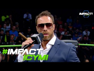 What Does Eli Drake Have To Say After Defeating Johnny IMPACT? | #IMPACTICYMI Oct 5, 2017