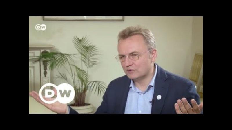 Борьба с коррупцией на Украине - как ловля рыбы в стиле Discovery - мэр Львова в